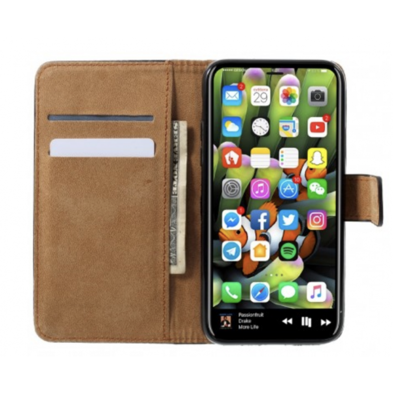 iphone xs coque portefeuille