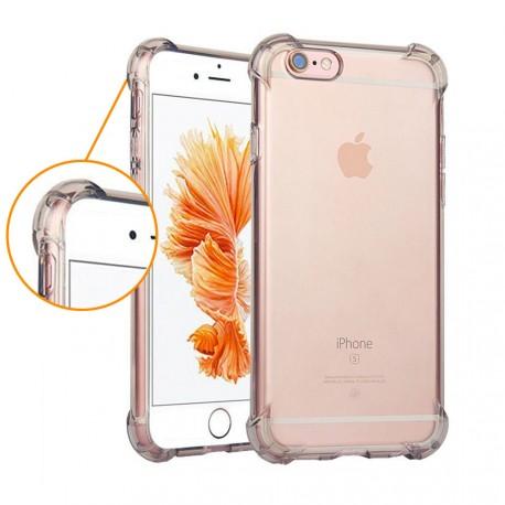 Coque silicone transparente coins renforcés iPhone 6/6S