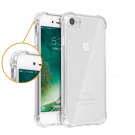 Coque silicone transparente coins renforcés iPhone 7 / iPhone 8