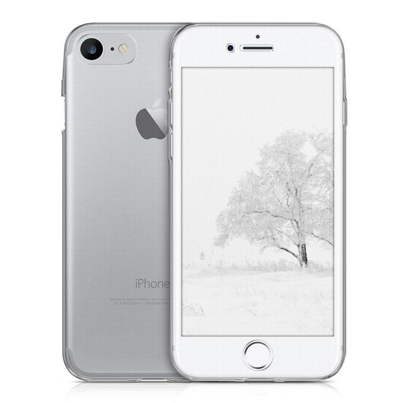 coque int grale silicone transparente iphone 7 8 tout pour phone. Black Bedroom Furniture Sets. Home Design Ideas