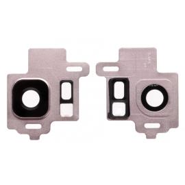 Lentille caméra arrière Rose poudré Samsung Galaxy S8 / S8 +