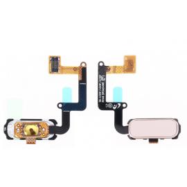 Nappe bouton home Rose Samsung Galaxy A3 / A5 / A7 2017
