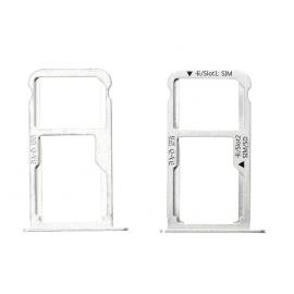Tiroir SIM + SD Huawei Mate 9 Blanc