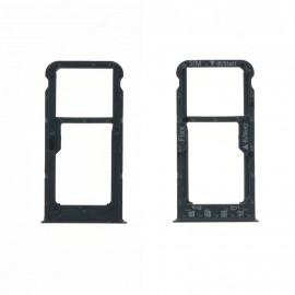 Tiroir SIM + SD Huawei P Smart Noir