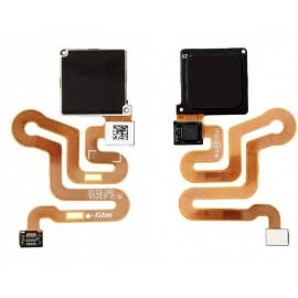 Nappe bouton home + capteur d'empreinte Huawei P9 lite Noir