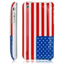 Coque iPhone 3G/3GS drapreau USA états unis