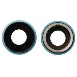 Lentille caméra arrière iPhone XR Bleu