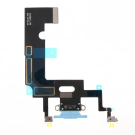Connecteur de charge iPhone Xr Bleu