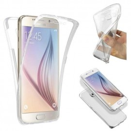 Coque intégrale silicone transparente Samsung S7 Edge