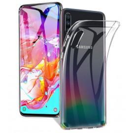Coque silicone transparente Samsung Galaxy A70