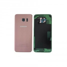 Vitre arrière Samsung Galaxy S7 Edge Or Rose