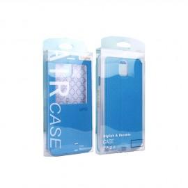 Packaging transparent coque smartphone