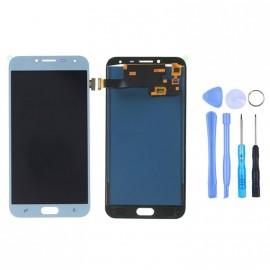 Ecran Samsung Galaxy J4 (2018) Argent d'origine Samsung + outils