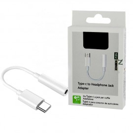 Adaptateur USB-C vers prise jack (3,5mm) avec packaging
