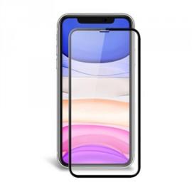 Film en verre trempé avec contour noir iPhone 11