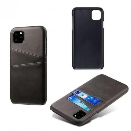 coque porte cartes noire iphone 11 pro