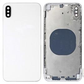 Coque arrière iPhone Xs Max Argent