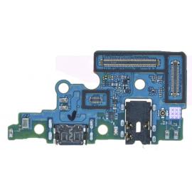 Nappe connecteur de charge + prise jack Samsung Galaxy A70