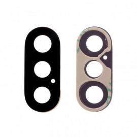 Lentille caméra arrière + adhésif iPhone Xs / Xs Max