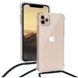 Coque cordon noir iPhone 11 Pro Max