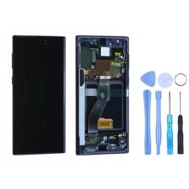 Ecran Samsung Galaxy Note 10 Noir cosmo + outils
