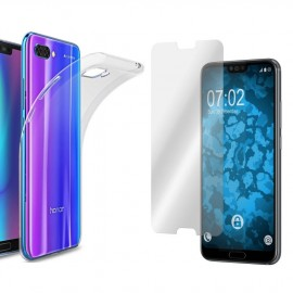 Coque silicone + verre trempé Honor 10