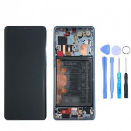 Ecran complet (châssis + batterie) d'origine Huawei P30 Pro Breathing Crystal + outils