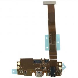 Nappe connecteur de charge + prise jack LG Flex 2