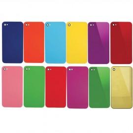 Vitre arrière couleurs iPhone 4
