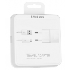 Chargeur complet micro-USB d'origine Samsung avec packaging