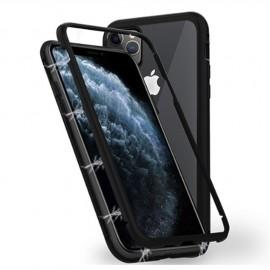 Coque intégrale magnétique noire iPhone 11 Pro Max