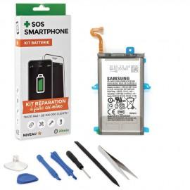 Kit réparation batterie Galaxy S9 +