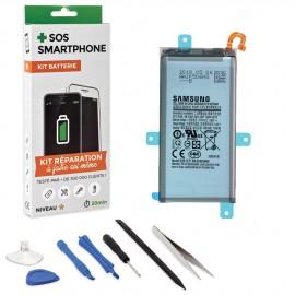 Kit réparation batterie Galaxy A6+ 2018