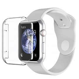 Coque rigide transparente Apple Watch Série 4 / 5 44 mm
