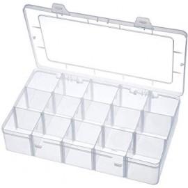 Boîte 15 rangements pièces détachées / vis
