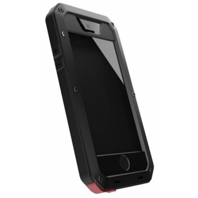 Coque Lunatik noir iPhone SE (2020)