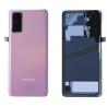 Vitre arrière d'origine Samsung Galaxy S20 Cloud Pink