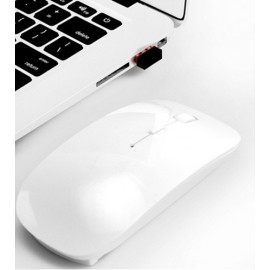 Souris bluetooth sans fil blanche MacBook