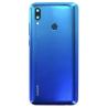 Vitre arrière d'origine Huawei + lecteur d'empreintes P Smart 2019 Bleu
