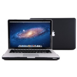 Coque MacBook noire de protection Air 11""