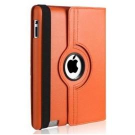 Etui cuir orange 360° iPad 2 / 3 / 4