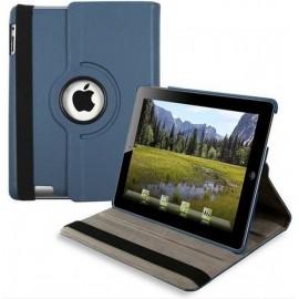 Etui cuir bleu marine 360° iPad 2 / 3 / 4
