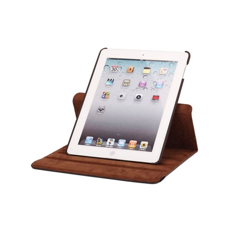 ... Housse smart cover marron iPad 2 3 ... 1d07ca03c40