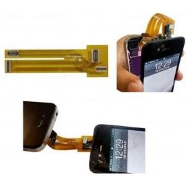 Nappe pour tester écrans iPhone 4/4S