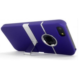 Coque de luxe violette iPhone 5