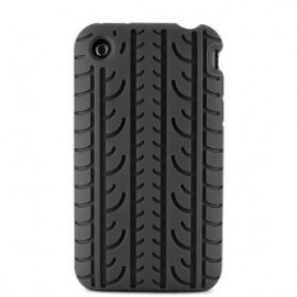 Coque Pneu iPhone 3G/3GS noir
