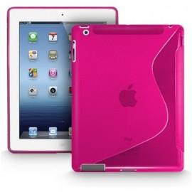 Housse S-Line iPad 2 / 3 / 4 rose