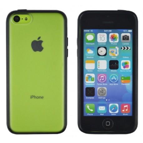coque bumper iphone 5c noir