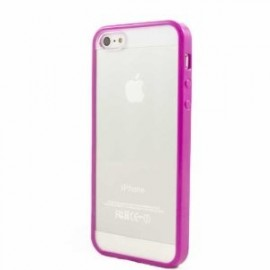 Coque bumper iPhone 5C fuschia