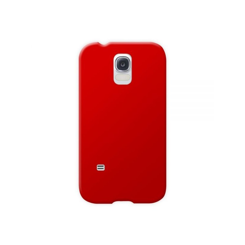 coque silicone samsung galaxy s5 rouge top tout pour phone. Black Bedroom Furniture Sets. Home Design Ideas